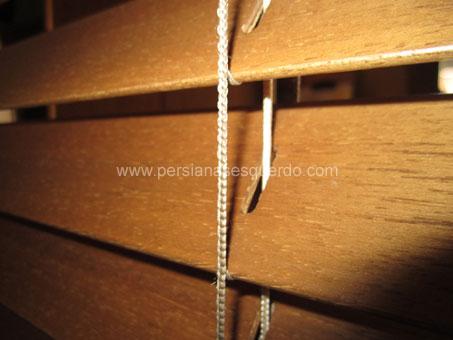persiana veneciana lames de fusta de 50mm